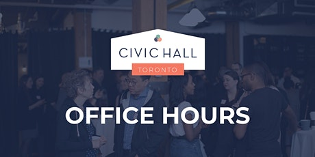 Civic Hall Toronto: April Office Hours tickets
