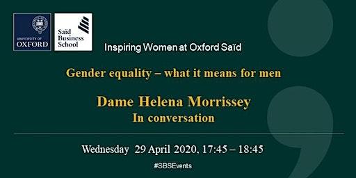 Inspiring Women at Oxford Said - Dame Helena Morrissey
