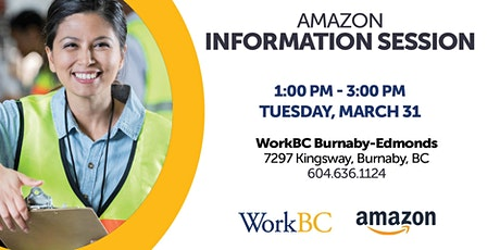 Amazon Hiring Fair tickets