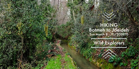 Hiking Botmeh to Jdeideh tickets