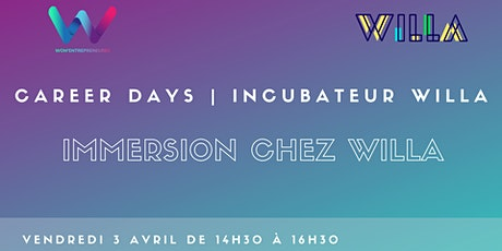 Career days | Incubateur Willa tickets