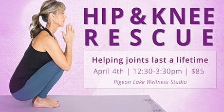Hip & Knee Rescue with Denise Yoga Co tickets
