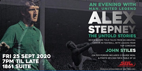 An Evening With Manchester United Goalkeeper Legend Alex Stepney tickets