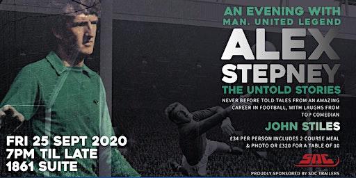 An Evening With Manchester United Goalkeeper Legend Alex Stepney