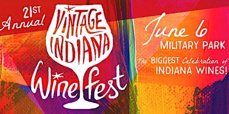 Vintage Indiana Wine Festival 2020 tickets