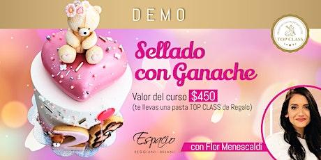 Demo de Sellado con Ganache con FLORENCIA MENESCALDI entradas