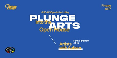 Plunge into the Arts tickets