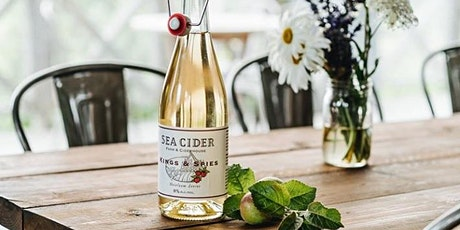 Sea Cider x The Bench Snack Bar Dinner Pairing tickets