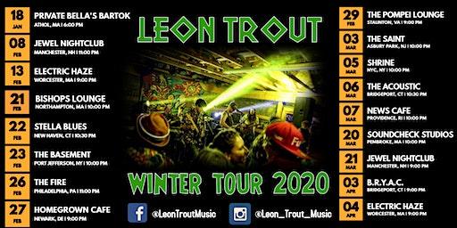 Leon Trout w/s/g Blacktop Strut