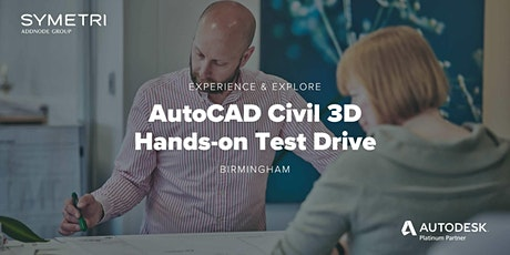 AutoCAD Civil 3D Hands-on Test Drive - Birmingham tickets
