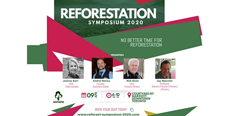 Reforestation Symposium 2020: Meet Eco-Friendly Leaders for Month Earth tickets