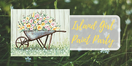 Island Girl Paint Party at The Creamery Co.