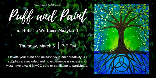 Puff and Paint at Holistic Wellness MD