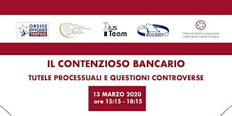 Contenzioso bancario: tutele processuali e questioni controverse biglietti
