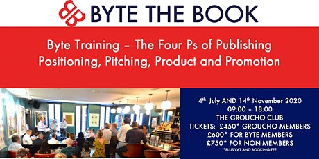 Byte Training: The Four Ps of Publishing tickets