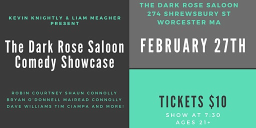 The Dark Rose Saloon Comedy Showcase