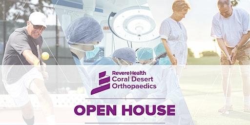 OPEN HOUSE   Coral Desert Orthopedics