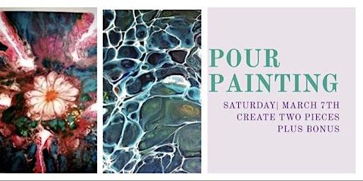 Pour Painting Class @ U R Creative Art Explorium