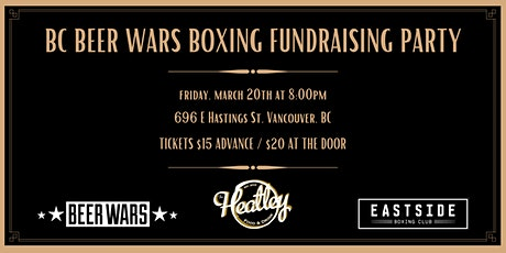 Boxing Fundraising Party at The Heatley tickets
