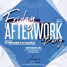 The Good Life Afterwork Fridays at Jimmys This Week tickets