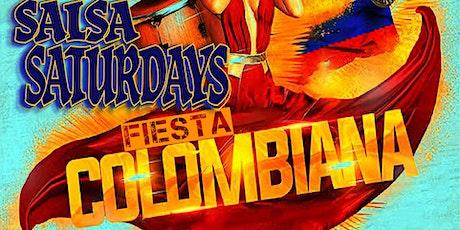 """Fiesta Colombiana"" SALSA SATURDAYS by DJ GIO and The Salsa Club tickets"