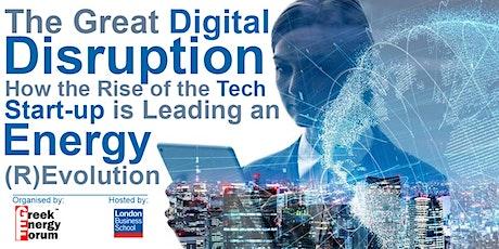 The Great Digital Disruption tickets
