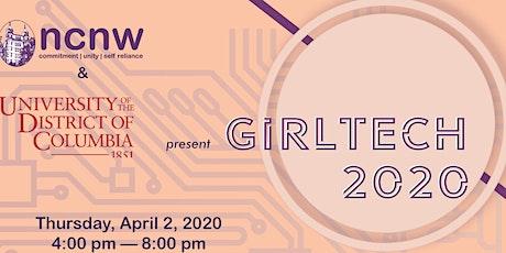 GirlTECH 2020---The New Jim Code:  Algorithmic Bias tickets