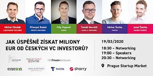 Jak úspěšně získat miliony eur od českých VC investorů?