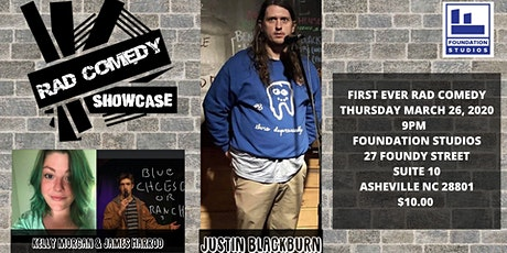 FIRST EVER RAD COMEDY SHOWCASE tickets