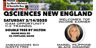 March 2020 Q Sciences New England Regional w/Special Guest Mariel Filippone