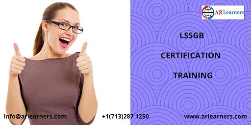 LSSGB Certification Training in Yakima, WA,USA