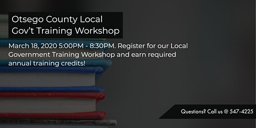 Local Government Training Workshop