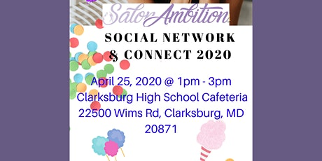 FREE: Salon Ambition Social Network &  Connect 2020 tickets