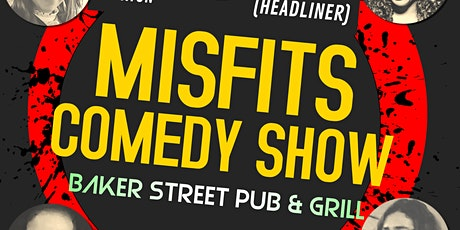 Misfits Comedy Show tickets