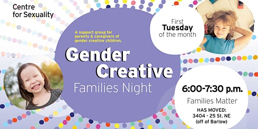 Gender Creative Families Night