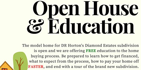 Open House and Education tickets
