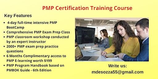 PMP Exam Prep Training in Eureka, CA