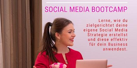 Social Media Bootcamp für Selbstständige, Freiberufler & Einzelunternehmer Tickets