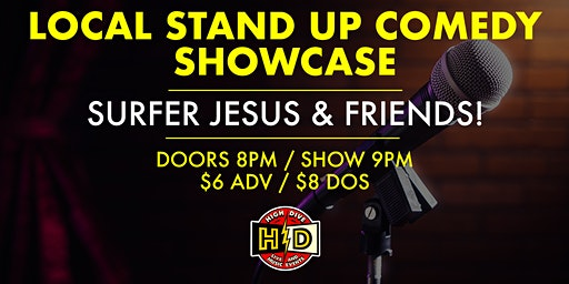 Local Comedy Showcase with Surfer Jesus & Friends