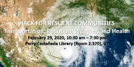 Hack for Resilient Communities: Transportation, Pollution, Weather & Health tickets