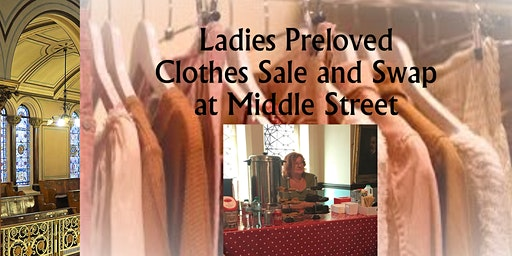 Ladies Preloved Clothes Swap and Sale at Middle Street