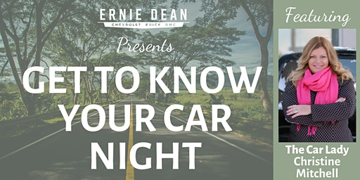 Know Your Car Night - Spring Edition
