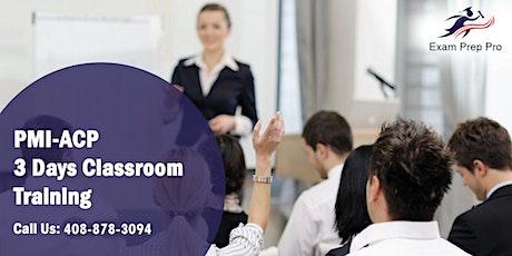PMI-ACP (PMI Agile Certified Practitioner) Training in Las Vegas boletos