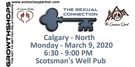The Conscious Quest - THE SEXUAL CONNECTION - What does it mean? tickets