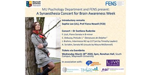 A synaesthesia concert for Brain Awareness Week