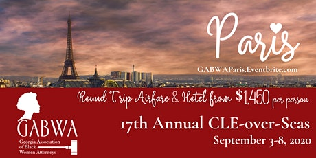 GABWA CLE-over-Seas Paris tickets