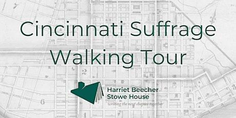 Cincinnati Suffrage Walking Tour tickets