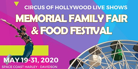 MEMORIAL FAMILY FAIR & FOOD FESTIVAL tickets