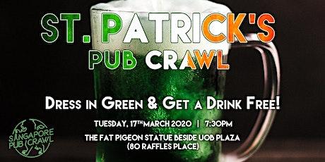 Singapore St' Patrick's Day Pub Crawl tickets