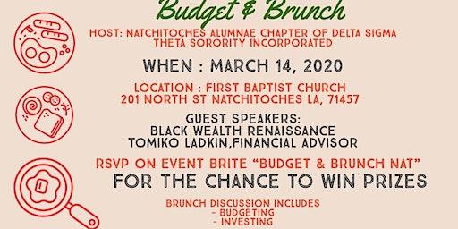 Budget & Brunch Nat